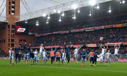 Un grande Genoa non basta, la Lazio non si ferma più e passa 3-2 a Marassi