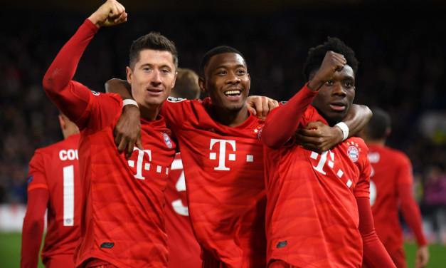 Le pagelle di Chelsea-Bayern Monaco: Lewandowski e Gnabry da urlo. Marcos Alonso e Jorginho troppo ingenui