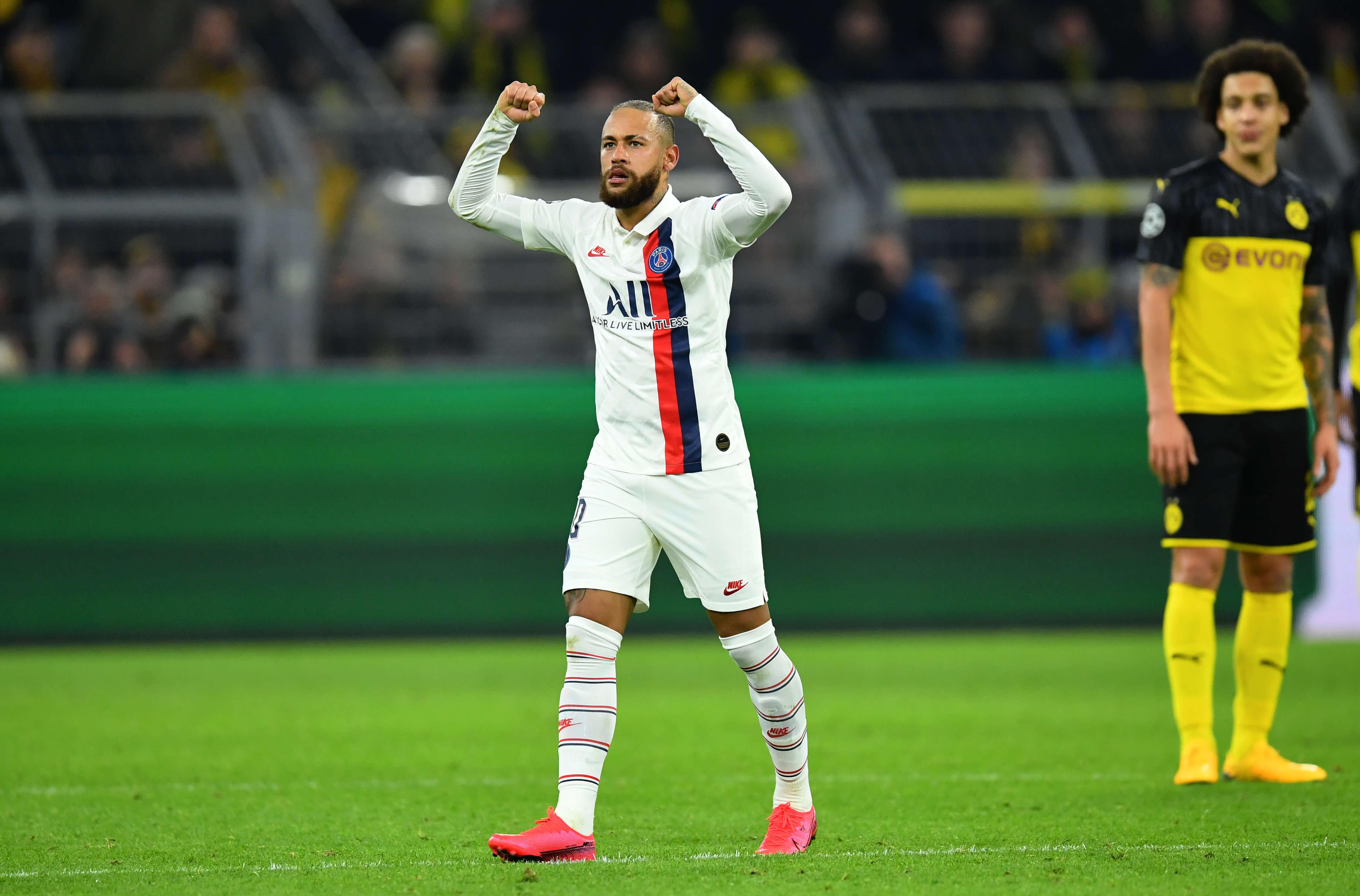Borussia Dortmung Paris Saint Germain Haaland Neymar Emre Can