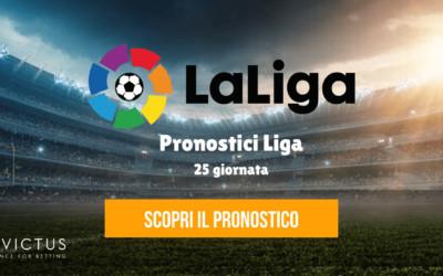 Pronostici Liga: 25 giornata