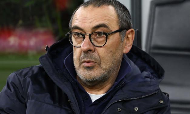"""Sarri su Lione-Juventus: """"Garcia conosce bene la Juventus, ci metterà in difficoltà. Coronavirus? E' un problema di tutta l'Europa"""""""