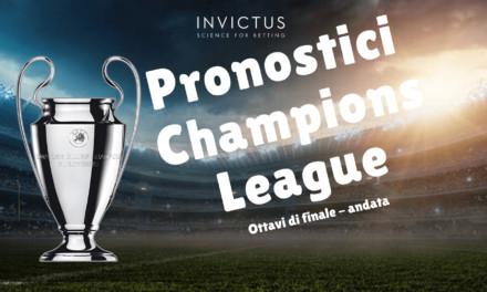 Pronostici Champions League: ottavi di finale andata