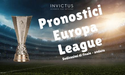 Pronostici Europa League: andata sedicesimi di finale