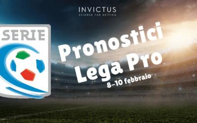 Pronostici Lega Pro: 8 – 10 Febbraio
