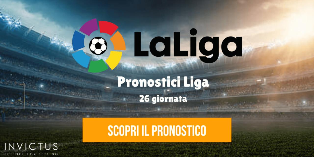Pronostici Liga: 26 giornata