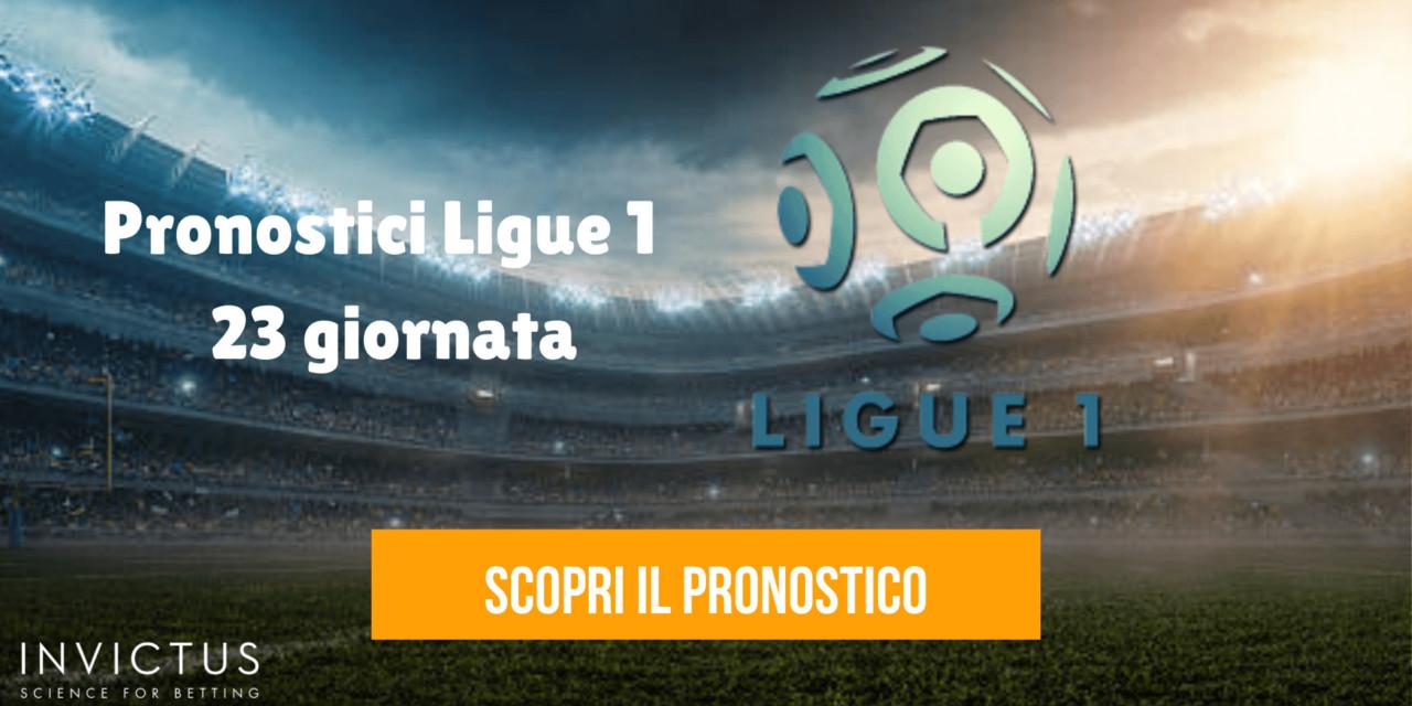 Pronostici Ligue 1: 23 giornata