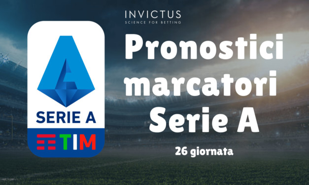 Pronostici marcatori Serie A: 26 giornata