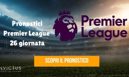 Pronostici Premier League: 26 giornata