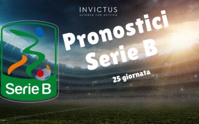 Pronostici Calcio Serie B: 25 giornata