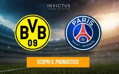 Borussia Dortmund – Paris Saint-Germain: analisi tattica, statistiche e pronostico