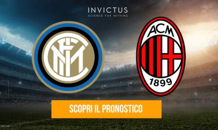 Inter – Milan: analisi tattica, statistiche e pronostico