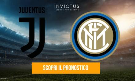 Juventus – Inter: analisi tattica, statistiche e pronostico
