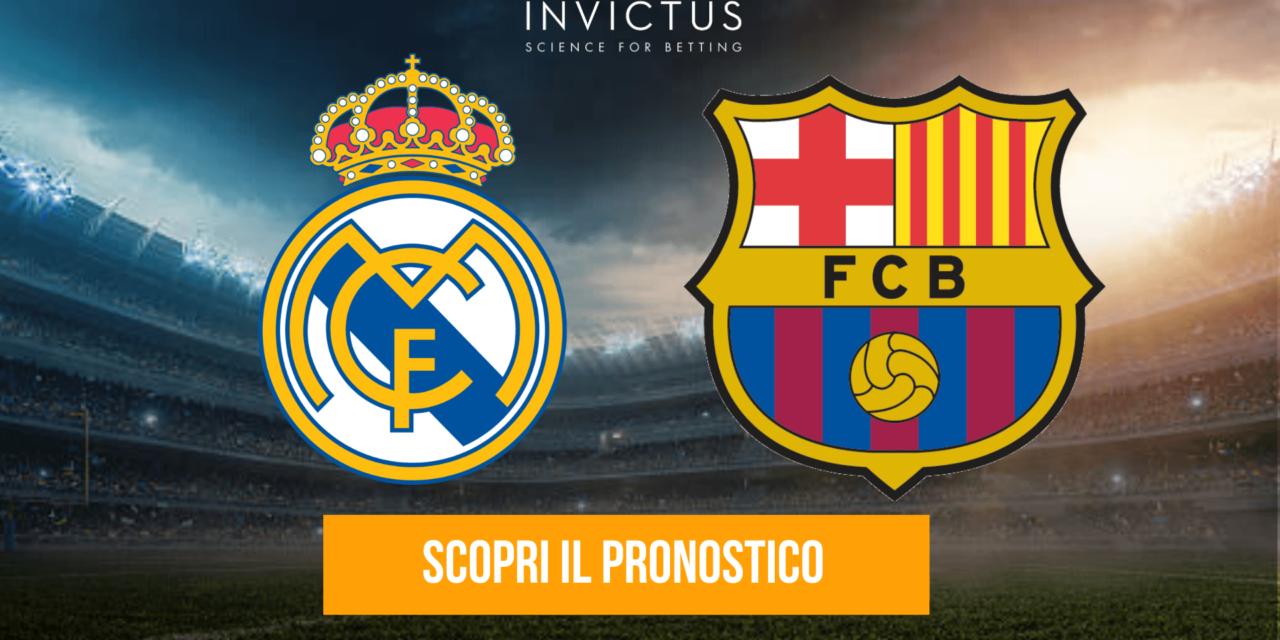 Real Madrid – Barcellona: analisi tattica, statistiche e pronostico