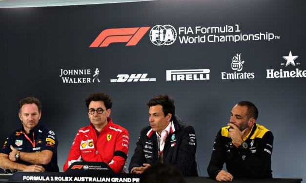 Formula 1: arriva la pace tra Ferrari e Mercedes. Red Bull non ci sta