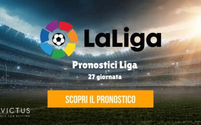 Pronostici Liga: 27 giornata
