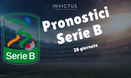 Pronostici Serie B: 28 giornata