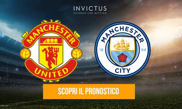 Manchester United – Manchester City: analisi tattica, statistiche e pronostico