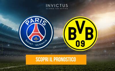 PSG – Borussia Dortmund: analisi tattica, statistiche e pronostico
