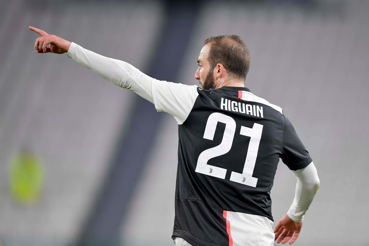 Higuain Real Madrid Milan