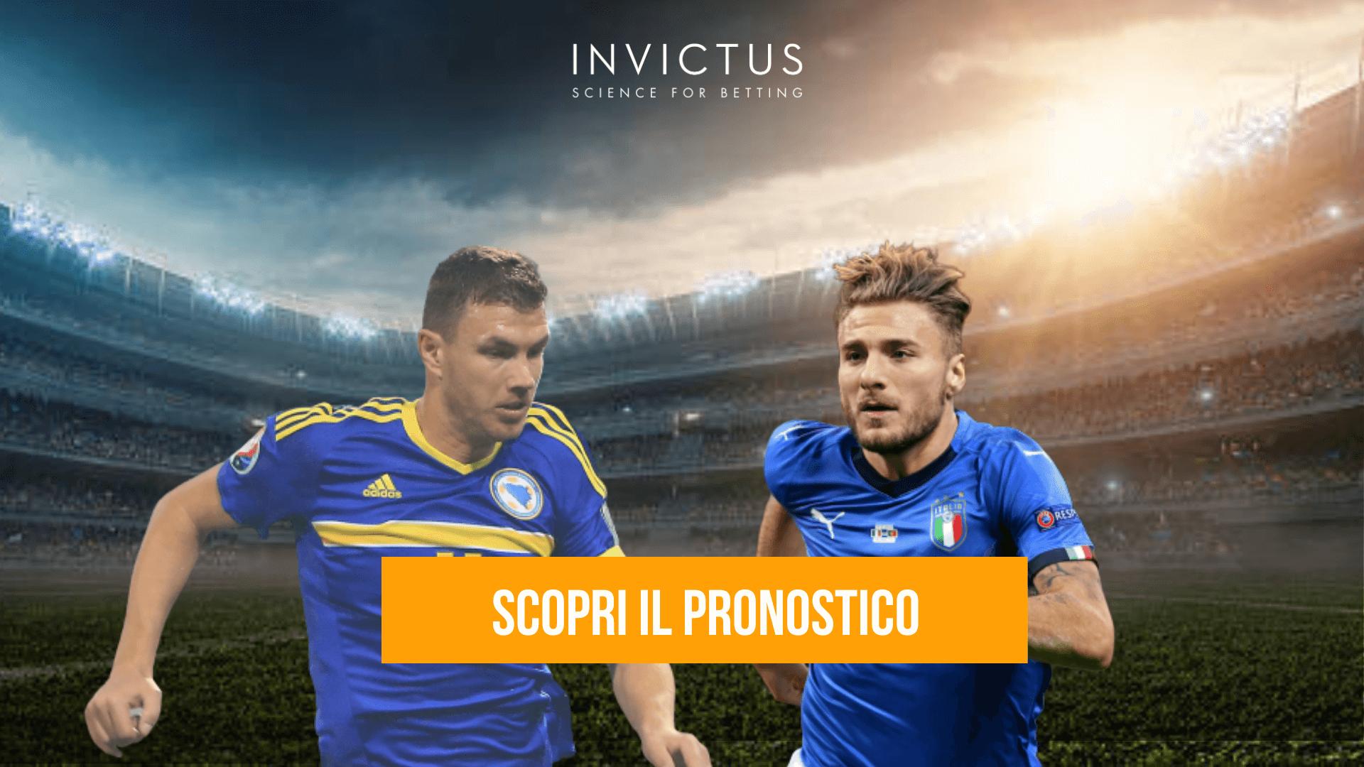 Pronostico Bosnia - Italia Nations League - Invictus Blog
