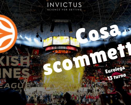 Pronostici Eurolega: 13 turno