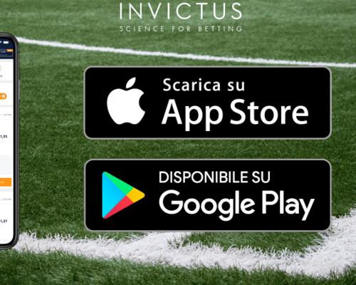 Invictus rilascia la propria app di pronostici