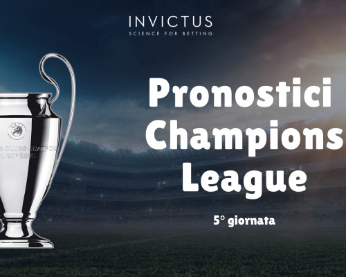 Pronostici Champions League 20/21: 5° giornata
